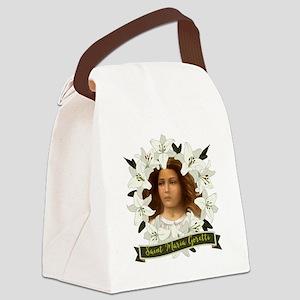 St. Maria Goretti Canvas Lunch Bag
