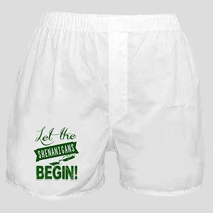 Funny St Patricks Day Irish Boxer Shorts