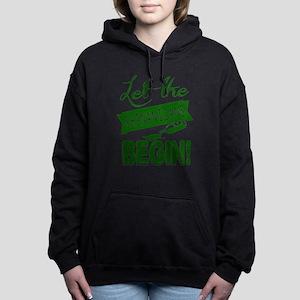 Funny St Patricks Day Ir Women's Hooded Sweatshirt
