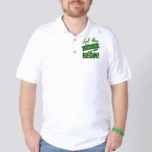 Funny St Patricks Day Irish Golf Shirt
