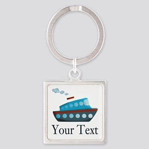 Personalizable Cruise Ship Keychains