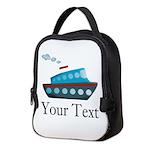 Personalizable Cruise Ship Neoprene Lunch Bag