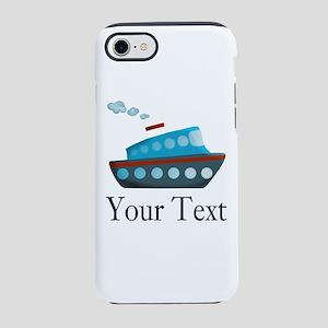 Personalizable Cruise Ship iPhone 8/7 Tough Case