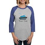 Personalizable Cruise Ship Long Sleeve T-Shirt