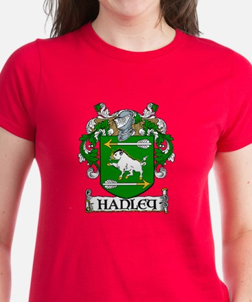 Hanley Coat of Arms Women's Dark T-Shirt