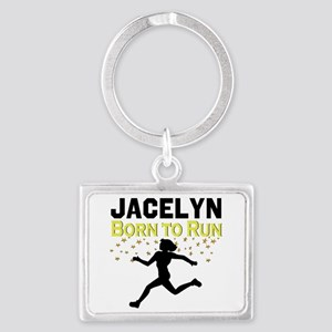 TRACK AND FIELD Landscape Keychain