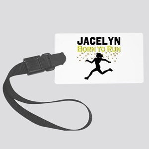 TRACK AND FIELD Large Luggage Tag