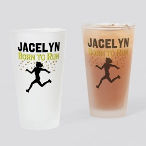 TRACK AND FIELD Drinking Glass