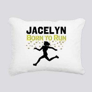 TRACK AND FIELD Rectangular Canvas Pillow