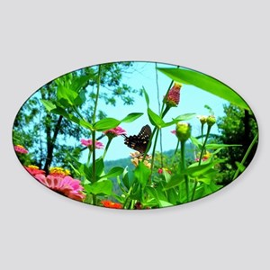 Black Swallowtail Butterfly Sticker