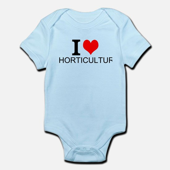 I Love Horticulture Body Suit