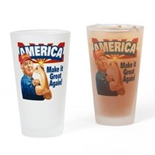 America Great Trump Drinking Glass