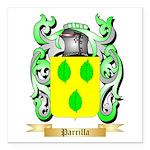 Parrilla Square Car Magnet 3