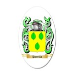 Parrilla 20x12 Oval Wall Decal
