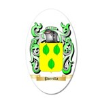 Parrilla 35x21 Oval Wall Decal