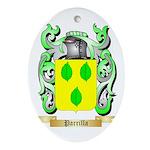 Parrilla Oval Ornament