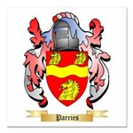 Parries Square Car Magnet 3