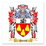 Parrett Square Car Magnet 3