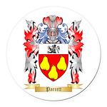 Parrett Round Car Magnet