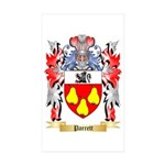 Parrett Sticker (Rectangle 50 pk)