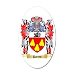 Parrett 20x12 Oval Wall Decal