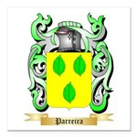Parreira Square Car Magnet 3