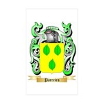 Parreira Sticker (Rectangle 50 pk)