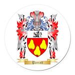Parratt Round Car Magnet