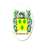 Parras 20x12 Oval Wall Decal