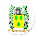 Parra Round Car Magnet