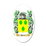 Parra 20x12 Oval Wall Decal
