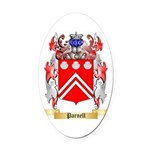 Parnell Oval Car Magnet