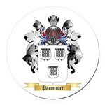 Parminter Round Car Magnet