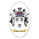 Parmenter Sticker (Oval 50 pk)