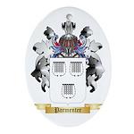 Parmenter Oval Ornament