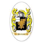 Parkyns Sticker (Oval 50 pk)
