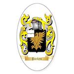 Parkyn Sticker (Oval 50 pk)