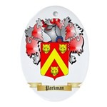 Parkman Oval Ornament