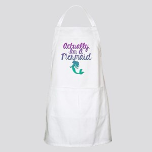 Actually, I'm A Mermaid Apron