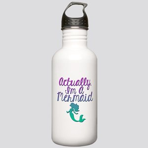 Actually, I'm A Mermai Stainless Water Bottle 1.0L