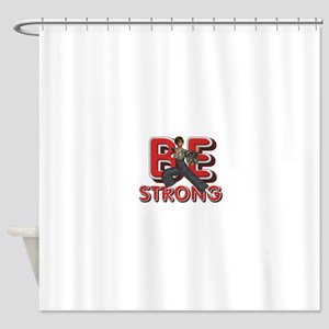 Martial Arts Strong Shower Curtain