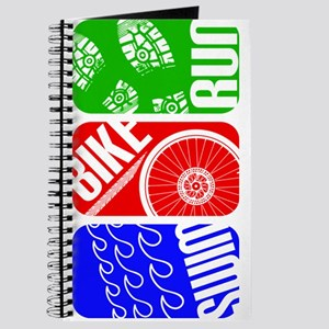 Triathlon TRI Swim Bike Run Journal