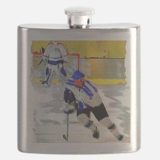 Cute Ice hockey Flask