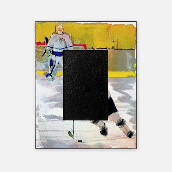 Cute Ice hockey Picture Frame
