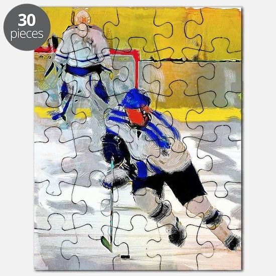 Unique Hockey Puzzle