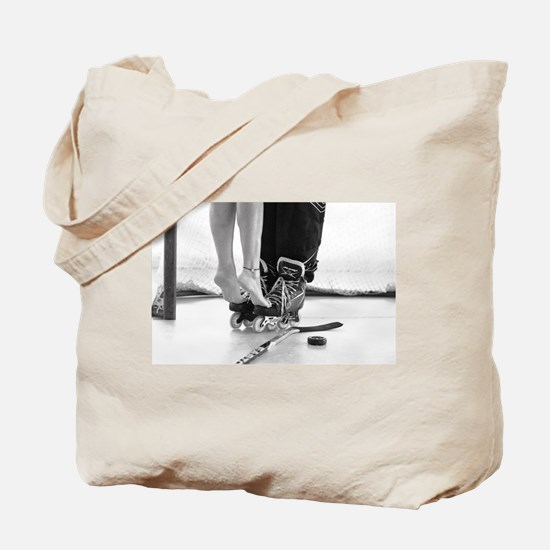 Cute Roller hockey Tote Bag