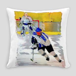 Hockey players Everyday Pillow