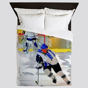 Hockey players Queen Duvet