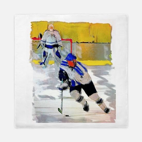Hockey players Queen Duvet