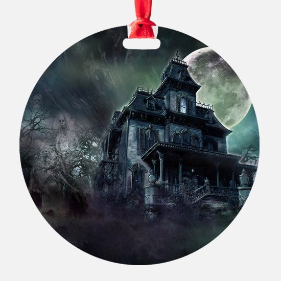 The Haunted House Ornament